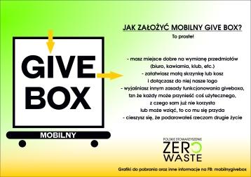 Give box INSTRUKCJA